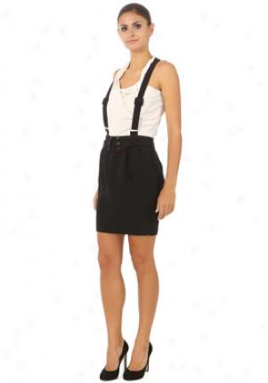 Brighton Black Suspender Skirt Wbt-2-032-black-m