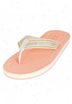 Bulgari Light Pink Beach Filp Flops 12144/ltpink/40