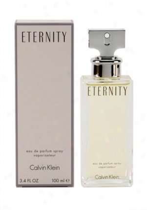 Calvin Klein Eternity Eau De Paarfum Spray 3.4 Oz Eternity/wom/3.4
