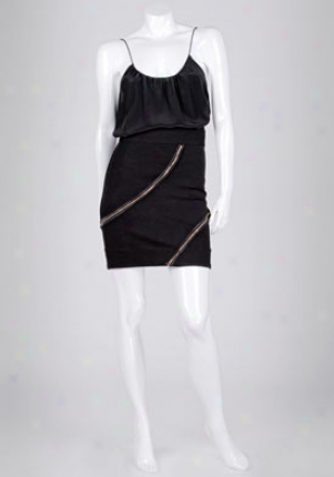 Camilla And Marc Mourning Mini Skirt Camimarcaa-wbt-ns5021.dblk-4