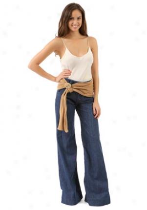 Chloe Beige Wide Leather Belt Be-3c0031130-tan-m