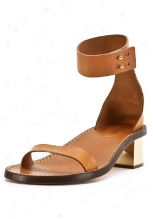 Chloe Tan Open Toe Sandals Ch16426-463-tan-37