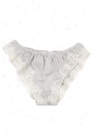 Christian Dior Light Grey Silk Panties Li-nlx44200-lg-38