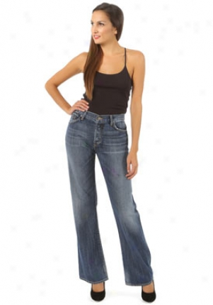 Citizens Of Humanity Blue Boyfriend Jeans Je-0000904630-bl32