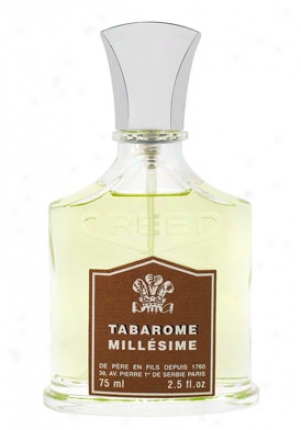 Creed Men's Millesime Tabarome Natural Spray 2.5 Oz. Tbarome-2.5