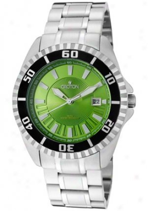 Crotpn Men's Unripe Dial Stainless Steel Sport's Ca301230ssgr