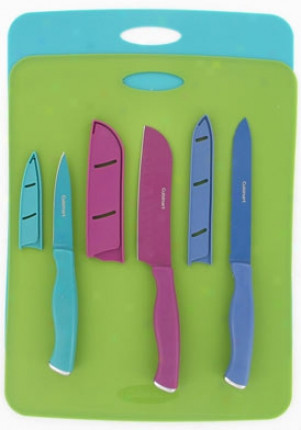 Cuisinart 8 Piece Stamped Resin And Mta Set 5087528