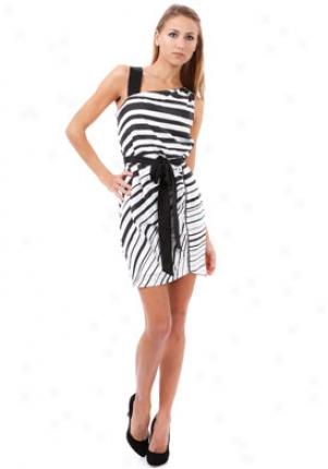Cynthia Steffe Black & White Virginia Dress Dr-276092