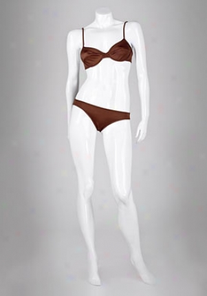 Dolce & Gabbana Beachwear Brown Underwire Cup Bikini Wsw-q00208-brown-s