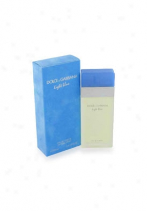 Dlce & Gabbana Light Blue Eau De Toilette Natural Spray 3.3 Oz Gabbana/ligh/bl/3.3