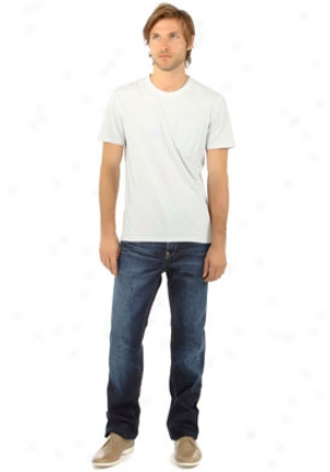 Earnest Sewn Fulton Straight Leg Jeans In Curtis Mbt-fulton405-40