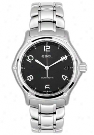 Ebel Mens' 1911 Automatic Stainlesq Steel 9330240/15665p