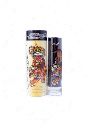 Ed Bold Eau De Toilette Natural Spray 3.4 Oz Ed/hardy/3.4