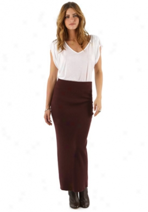 Elizabeth & James Burgundy Lpng Skirt Wbt-lk511-505l-bu-p