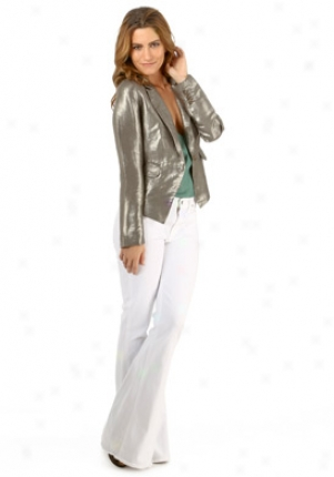 Elizabeth & James Metallic Linen Jacket Ja-lj236-556l-met-4