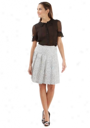 Fendi Black Silk Sheer Top Wtp-fs5632uyz-bk-44