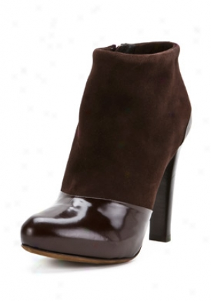 Fendi Brown Suede Booties 8f2962-zrv-br-37