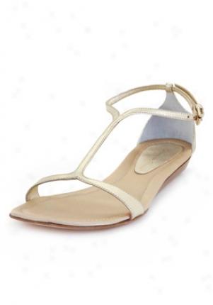 Gianvito Roossi Gold Metallic Sandals Gc6192-platino-37