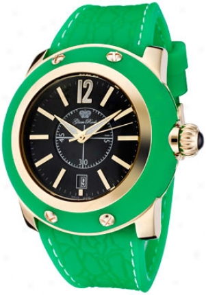Glam Rock Women's Miami Murky Dial Green Silicon Gr30019ggf