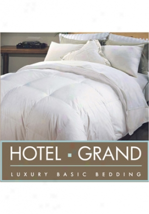 Hotel Grand D/c-7 White Naples 700 Tc Hotel Grand Hwgd Comforter 018002