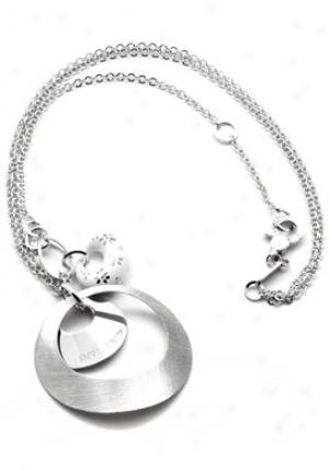 Invicta Jewelry Women's Grazia Silver 925 Double Chain Necklace J0017