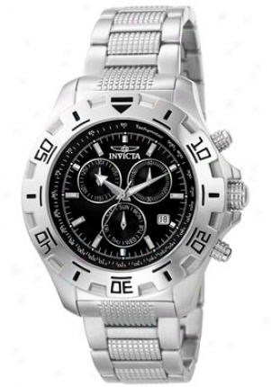 Invicta Men's Invicta Ii Chronograph Stainless Steel 6413