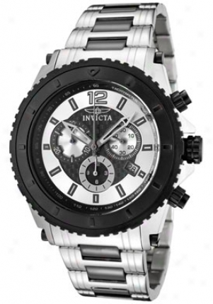 Invicta Men's Invicta Ii Chronograph Two Tone Stainless Steel 1010
