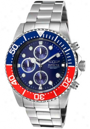 Invicta Men's Pfo Diver Chronograpn Staknless Steel 1771