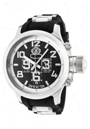 Invicta Men's Russian Diver Quinotaur Chronograph Wicked Rubber 4578-sn
