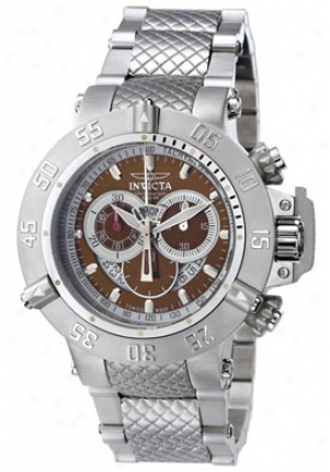 Invicta Men'ss Subaqua 500 Meter Chronograph 4569