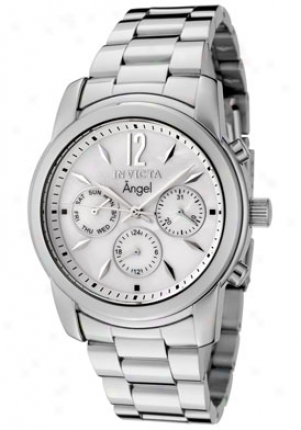 Invicta Women's Angel Chief Of Pearl Dial Stainless Steel 0463