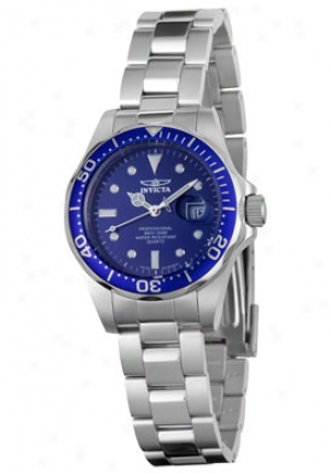 Invicta Women's Pro Diver Stainless Steel 4863
