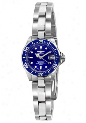 Invicta Women's Pro Diver Stainless Steel 9177