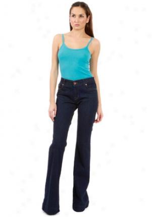 J Brand 722 Love Story Bell Bottom Jeans In Oyster Je-14075-31