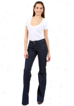 J Brand 84410 Monroe Trousers In Woodstock Je-14079-24