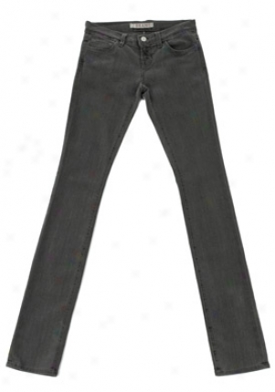 J Brand Charcoal Pencil Jeans Je-9120265-ghos-gr-24