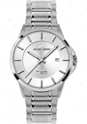Jacques Lemans Men's Sydney Automatic 1-1541g Stainless Steel 1541g