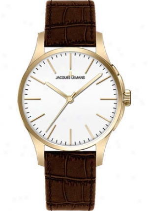 Jacques Lemanz Women's London 1-1550d Brown Leather 1550d