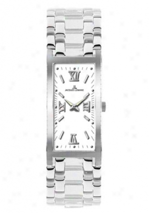 Jacques Lemans Women's Venice 1-1572f Stainless Steel 1572f