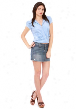 James Jeans Spencer Mini Skirt Pure Wash Je-6702725
