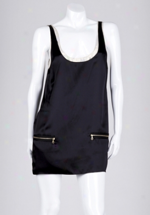 Jay Godfrey Black Waverly Coupled Tank Dress Dr-39305-waverl-b-8