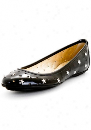 Jimmy Choo Black Wink Patent Leather Flats 092wink-pat-blk-40.5