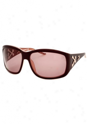 Just Cavalli Wraparound Sunglasses Jc140s-u33-64-15 Jc140s-u33-64-15