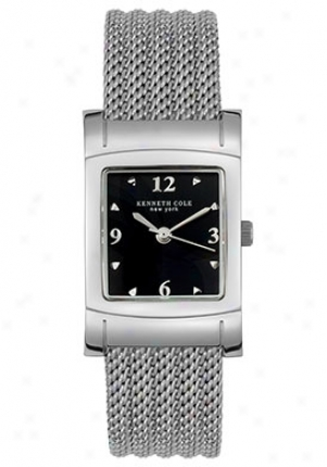 Kenneth Cole Women's Steel Watch Stainless Steel Kc4418