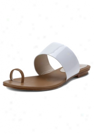 Kors Michael Kors White Peanut Sandals 41s1zefa2a-multi-9