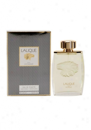 Lalique Eau De Toilette Spray 4.2 Oz Phomme-me-4.2