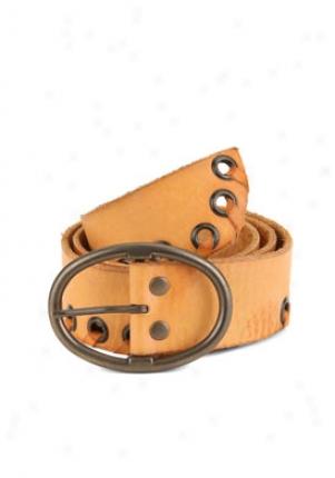 Linea Pelle Tan Vintage Leather Belt Be-00144019-ta-m