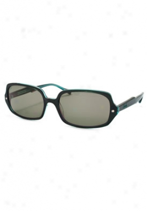 Lucky Brand Forte Fashion Sunglasses Forte-grn-teal-54-16