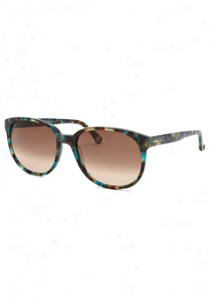 Michael By Michael Kors Greenwich Wayfarer Sunglasses M2733s-greenwic-419