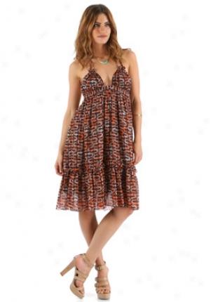 Milly Multicoior Silk Dress Dr-123mp01622-multi-2